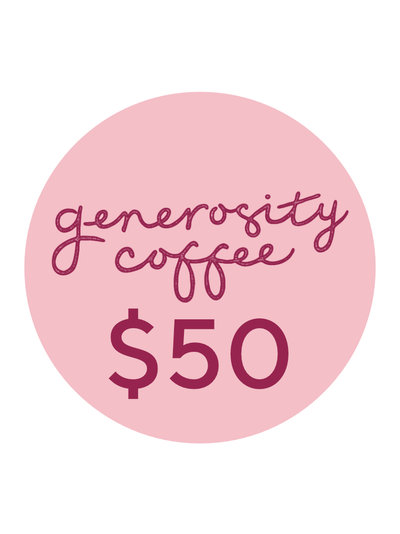 generosity coffee voucher 50 birkenhead gift